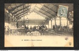 51 - REIMS - Abattoir (Intérieur) - 1906 - Reims