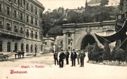 BUDAPEST ALAGUT TUNNEL - Hungría