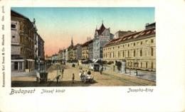 BUDAPEST JOZEF KORUT JOSEPHS RING - Hungría