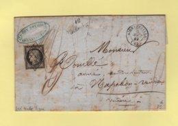Vieille Vigne - 42 - Loire Inferieure - Cursive - Aigrefeuille - 5 Aout 1849 - Marcophilie (Lettres)