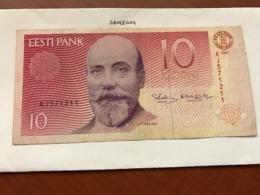 Estonia 10 Krooni Banknote 1991 - Estland