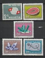 SUISSE 1959 YT N° 625 à 629 ** - Unused Stamps