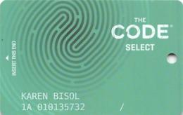 SLS Casino - Las Vegas, NV - CODE Select Slot Card - Casino Cards