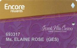 Grand Villa Casino - British Columbia Canada - Single Diamond Slot Card - Casino Cards