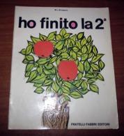 HO FINITO LA SECONDA 1972 FABBRI - Enfants