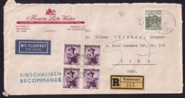 Österreich - 1967 - Brief -> Peru - 1945-.... 2nd Republic