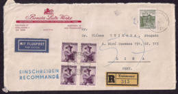 Österreich - 1967 - Brief -> Peru - 1945-.... 2ème République