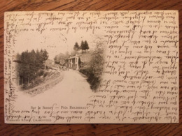 CPA, Belgique, Sur La Semoy, Près Rochebaut, (carte Nuage), Photo Ponsin Druart Reims, éd Librairie Ruben, 1900 - Belgique