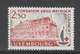 TIMBRE NEUF DU LUXEMBOURG - CENTENAIRE DE LA CROIX-ROUGE INTERNATIONALE N° Y&T 632 - Cruz Roja