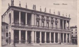 CARTOLINA - VICENZA - MUSEO - VIAGGIATA PER SEVESO ( MB) - Vicenza