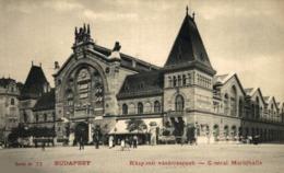 BUDAPEST - Központi - Vásárcsarnok - Central - Markthalle - Hongrie