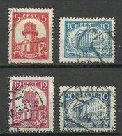 Estland Estonia 1932 Universität Dorpat Michel 94 - 97 O - Estonia