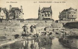 PARAME PLAGE  Groupe De Villas Enfants Jouant Au Bord De L'eau  RV - Parame