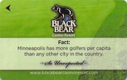 Black Bear Casino - Carlton, MN - Hotel Room Key - Cartas De Hotels