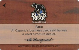 Black Bear Casino - Carlton, MN - Hotel Room Key - Hotel Keycards