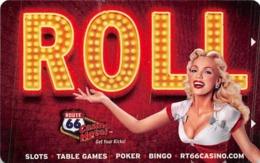 Route 66 Casino - Albuquerque NM - Hotel Room Key Card - Cartas De Hotels
