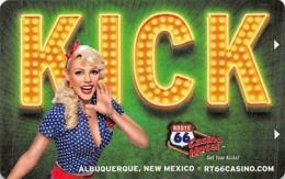 Route 66 Casino - Albuquerque NM - Hotel Room Key Card - Hotel Keycards