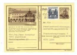 Österreich, 1967, Bildpostkarte Bruck A.d.Mur Mit Eingedr. S 1,-- Mariazell + Zusatz 0,50S/Bauten (14046W) - Bruck An Der Mur