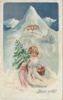 79-285 Estonia Russia Christmas Embossed Postal History - Estland