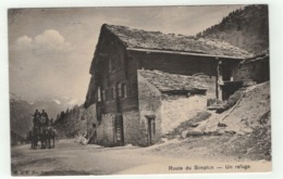 Suisse // Schweiz // Switzerland //  Valais //  Route Du Simplon, Un Refuge - VS Valais