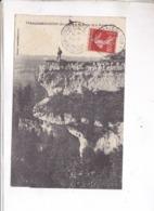 CPA DPT 24   LAROCHEBEAUCOURT, ROCHER DE LA GRANDE CRETE En 1909! - Francia