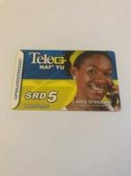 Surinam - 1 Phonecard - Suriname