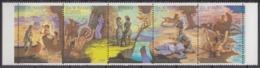 USSR 17.11.1989 Mi # 6009-13 Fuenferstreifen, James Fenimore Cooper Bicentenary (II), MNH OG - Nuevos