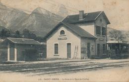 I179 - 38 - SAINT-ISMIER - Isère  - La Gare Et La Dent De Crolles - Otros Municipios