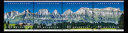 Suisse Helvetia 2419/22 Montagnes - Geologia