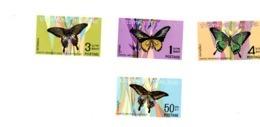 Thaïlande 1968-Papillons-MI 525/8-***MNH- - Farfalle