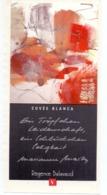 Etiket Etiquette Sticker Zelfklever - Vin - Wijn - Cuvée Blanca - Régence Balavaud - Etiquettes