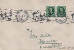ENVELOPPE  DEUTSCHES REICH   1936 - Allemagne