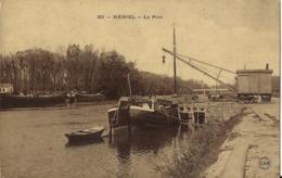 MERIEL - Le Port (95)  (navigation Intérieure, Péniche) - Meriel