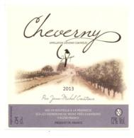 Etiket Etiquette Sticker Zelfklever - Vin - Wijn - Cheverny - 2013 - Jean Michel Courtioux - Etiquettes