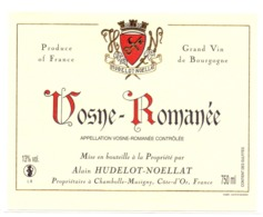 Etiket Etiquette Sticker Zelfklever - Vin - Wijn - Bourgogne - Vosne Romanée - - Bourgogne