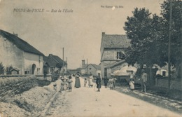 I180 - 39 - POIDS-DE-FIOLE - Jura - Rue De L'Ecole - Frankrijk