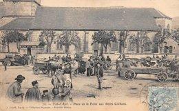 88 . N° 106618 . Val D Ajol .pas Courante .attelage .place De La Foire Aux Petits Cochons  . - Frankreich