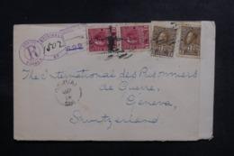 CANADA - Enveloppe En Recommandé De Dorval Pour La Suisse En 1918 Avec Contrôle Postal - L 48106 - Briefe U. Dokumente