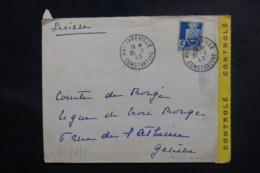 ALGÉRIE - Enveloppe De Philippeville En 1943 Pour La Suisse Avec Contrôles Postaux - L 48108 - Briefe U. Dokumente