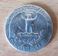 Etats-Unis - Monnaie Quarter Dollar 1948 En Argent - Achat Immédiat - Emissioni Federali