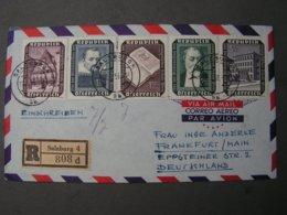 Salzbrug Satz Brief 1956 - 1945-60 Briefe U. Dokumente