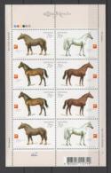 UKRAINE 2005 Mi 740-743klb Horses / Pferde / Chevaux / Caballos / Cavalli **/MNH - Paarden