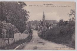 BARENTON - Vue Générale Prise De La Route De La Gare - Barenton