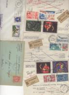 10 Lettres Et Cartes + 1 Cadeau Prix De Départ Sans Réserve 1€ Voir 2 Scan.  Bonnes Enchère             Lot Delc N°2, 2° - Marcophilie (Lettres)