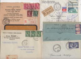 10 Lettres Et Cartes + 1 Cadeau Prix De Départ Sans Réserve 1€ Voir 2 Scan.  Bonnes Enchère             Lot Delc N°3, 2° - Marcophilie (Lettres)