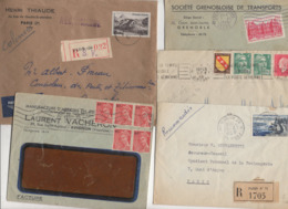 10 Lettres Et Cartes + 1 Cadeau Prix De Départ Sans Réserve 1€ Voir 2 Scan.  Bonnes Enchère             Lot Delc N°4, 2° - Marcophilie (Lettres)
