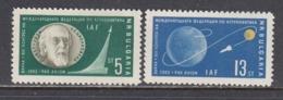 Bulgaria 1962 - International Congress Of Astronautics, Mi-Nr. 1347/48, MNH** - Bulgaria