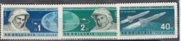 """Bulgaria 1962 - Spaceships """"Vostok 3"""" And """"Vostok 4"""", Mi-Nr. 1355/57, MNH** - Bulgaria"""