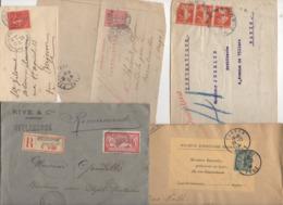 10 Lettres Et Cartes + 1 Cadeau Prix De Départ Sans Réserve 1€ Voir 2 Scan.  Bonnes Enchère             Lot Delc N°5, 2° - Marcophilie (Lettres)