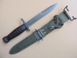 Baïonnette USM4 CASE, 1ère Variante, US WW2. - Armes Blanches